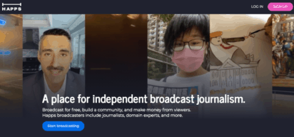 Bringing professional newscasts to independent journalists